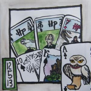 Harry Potter card deck