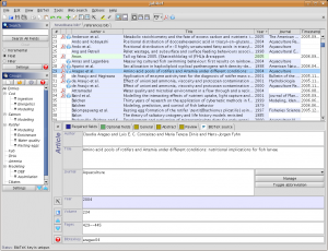 Jabref-2.2-screenshot