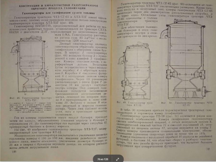 газгены тракторов. ЧТЗ СГ65