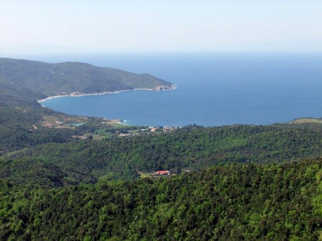 Гора Афон, Греция, Халкидики