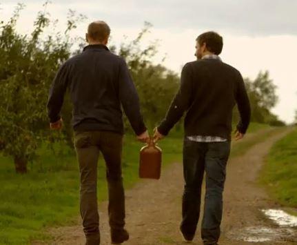 Giles and Xander