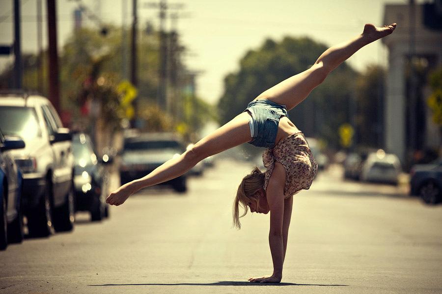 балет на улице