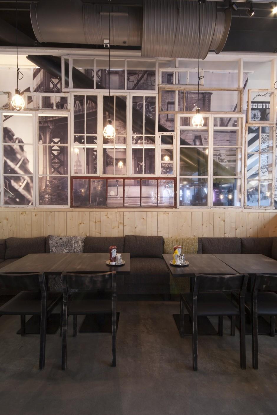 Интерьер ресторанов