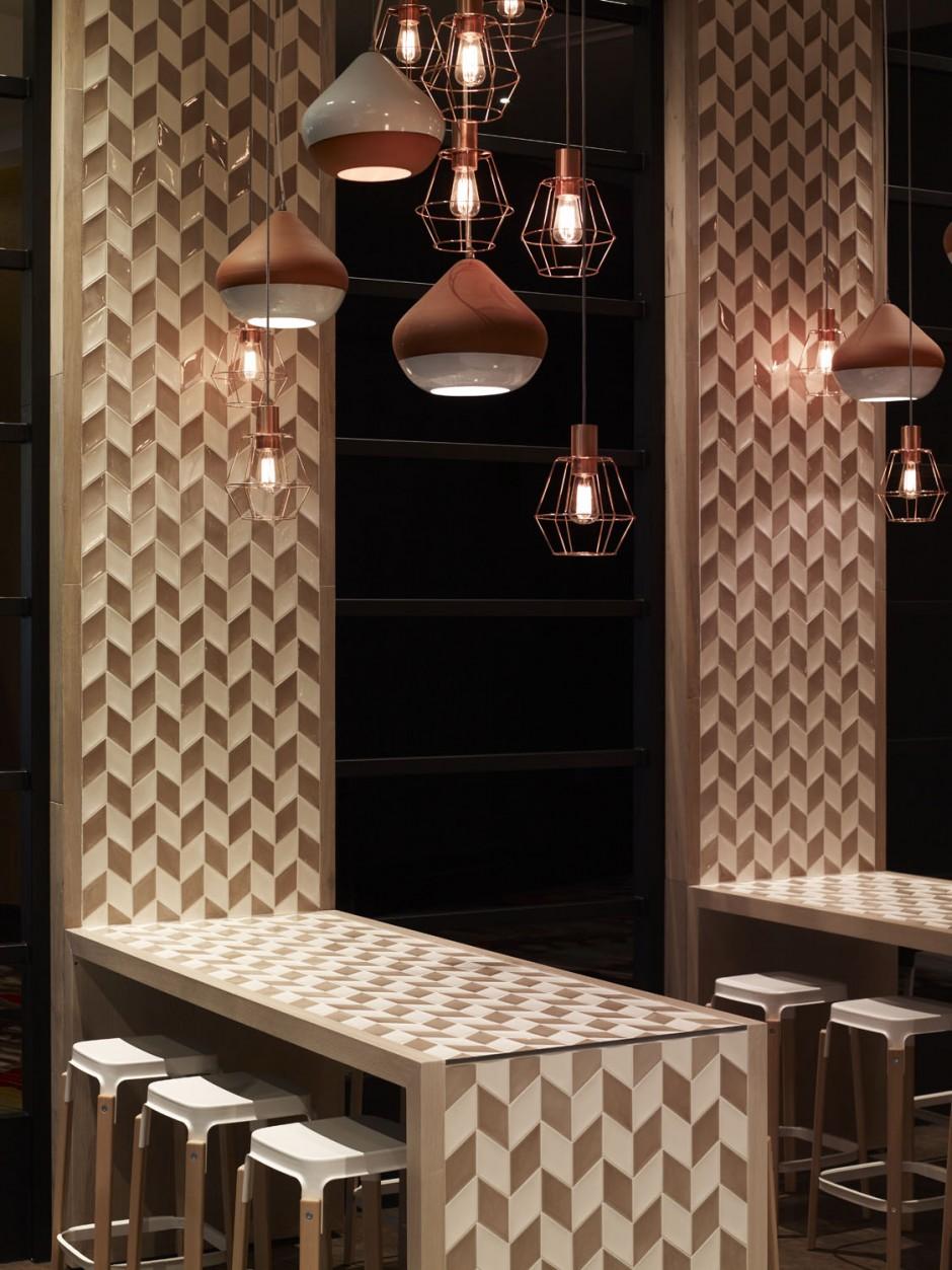 Мим Дизайн завершили свой дизайн Cotta кафе в Мельбурне, Австралия.