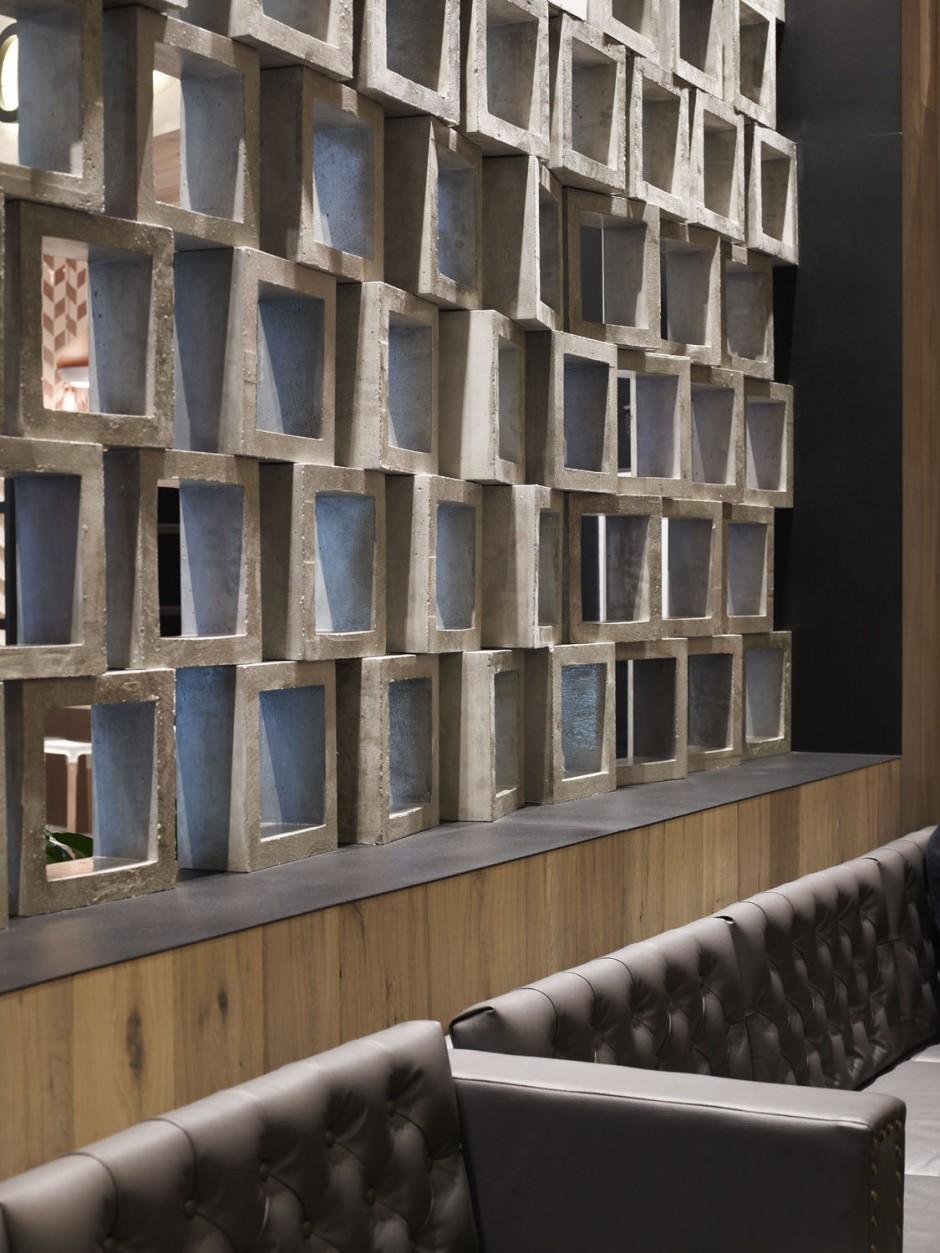 Мім Дизайн завершили свій дизайн Cotta кафе у Мельбурні, Австралія.