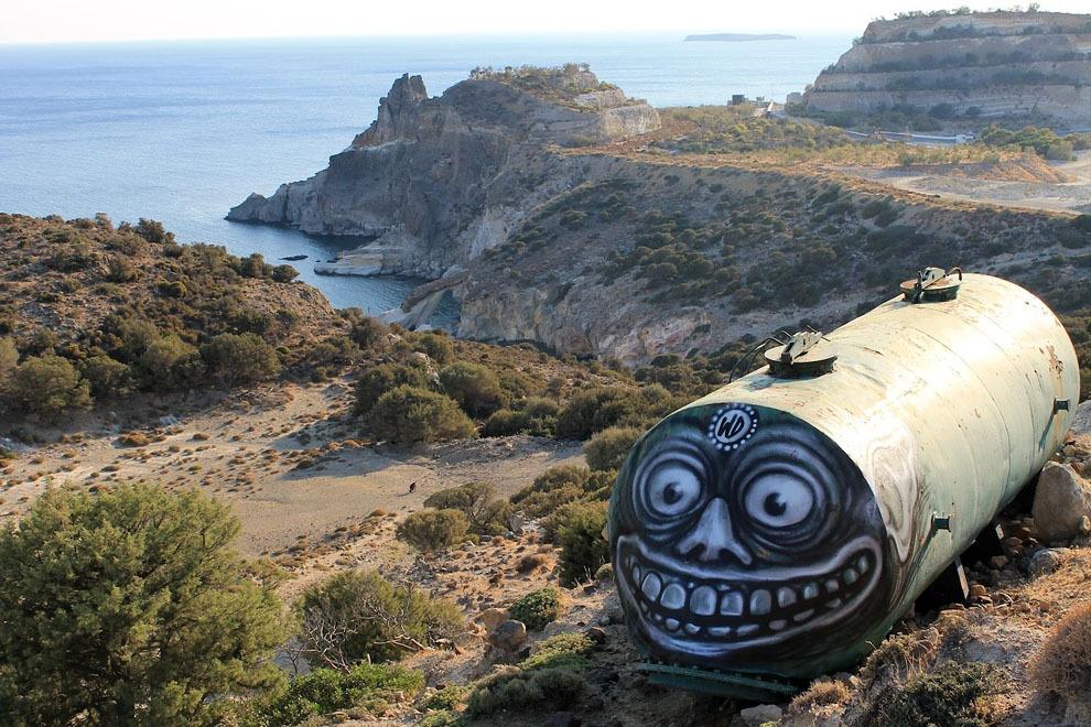 1. Милос, Греция. Автор: WD.