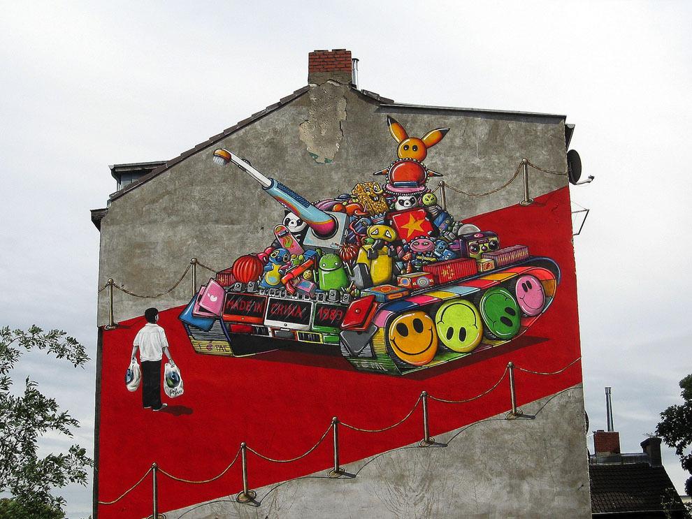 3. Кельн, Германия. Авторы: A.SignL, Amnesty International.