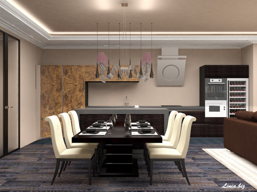 Коричневые гостиные, гостиная в коричневом цвете