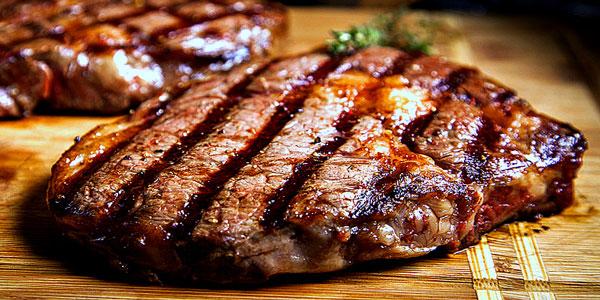 стейк из мраморной говядины на сковороде рецепт с фото пошагово