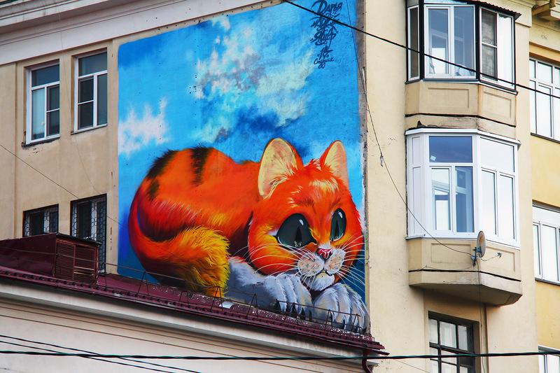Челябинск граффити