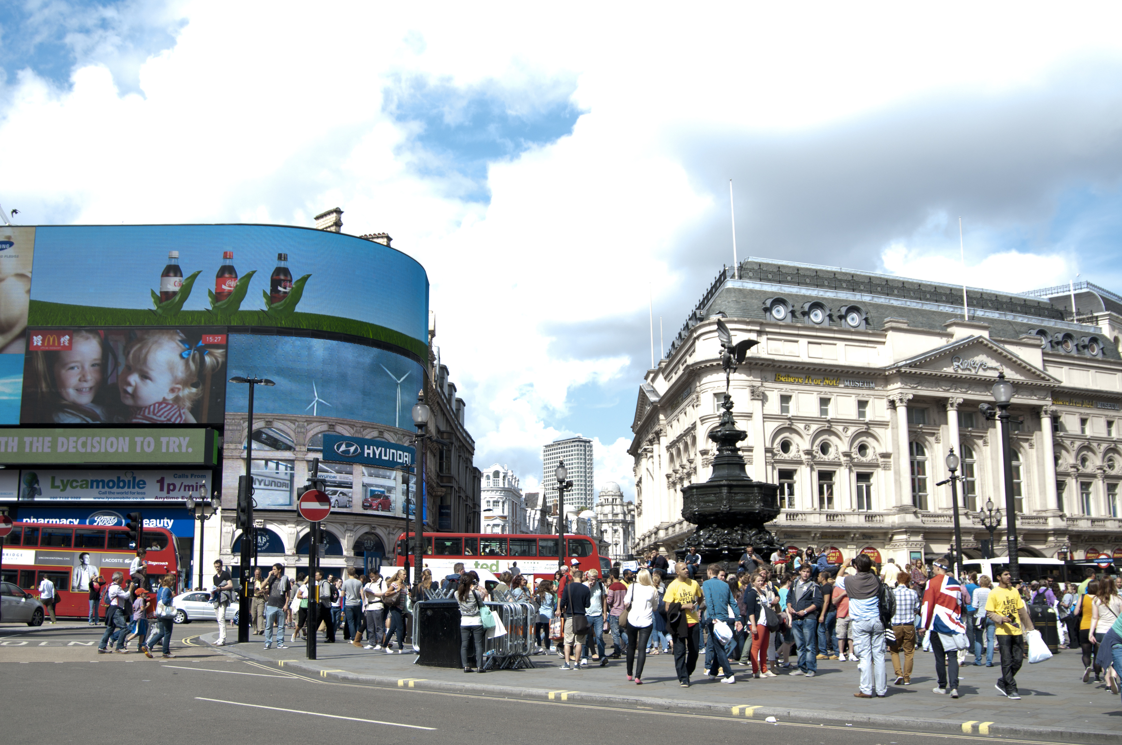 Piccadilly circus, London 2012