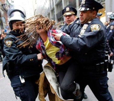 Разгон демонстрантов в США