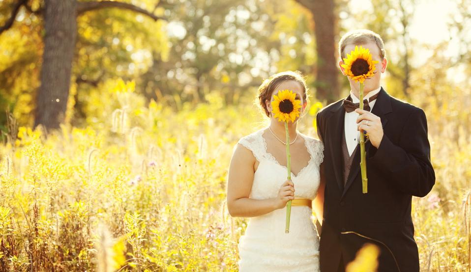 Свадьба в подсолнухах