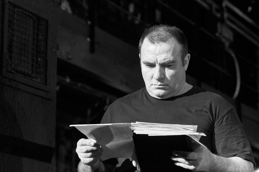 фото с репетиции спектакля «Кориолан» (реж. - Анна Потапова), Театр на Таганке, автор фото: Сергей Трифонов