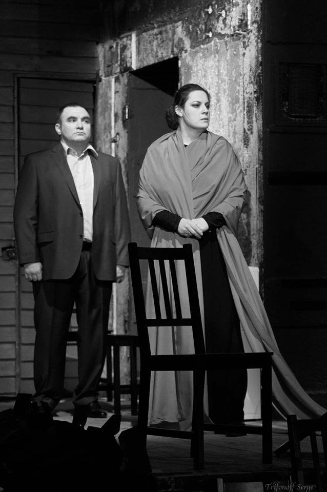 фото с прогона спектакля «Кориолан» (реж. - Анна Потапова), Театр на Таганке