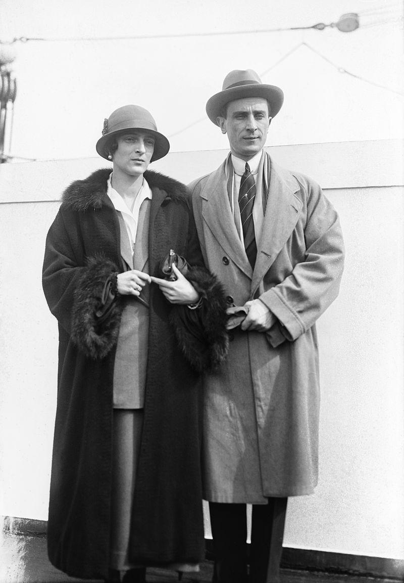 Феликс Юсупов и его жена Ирина, 1930