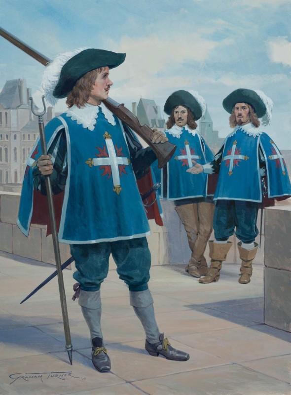 Картинки мушкетеров 17 века, поздравление
