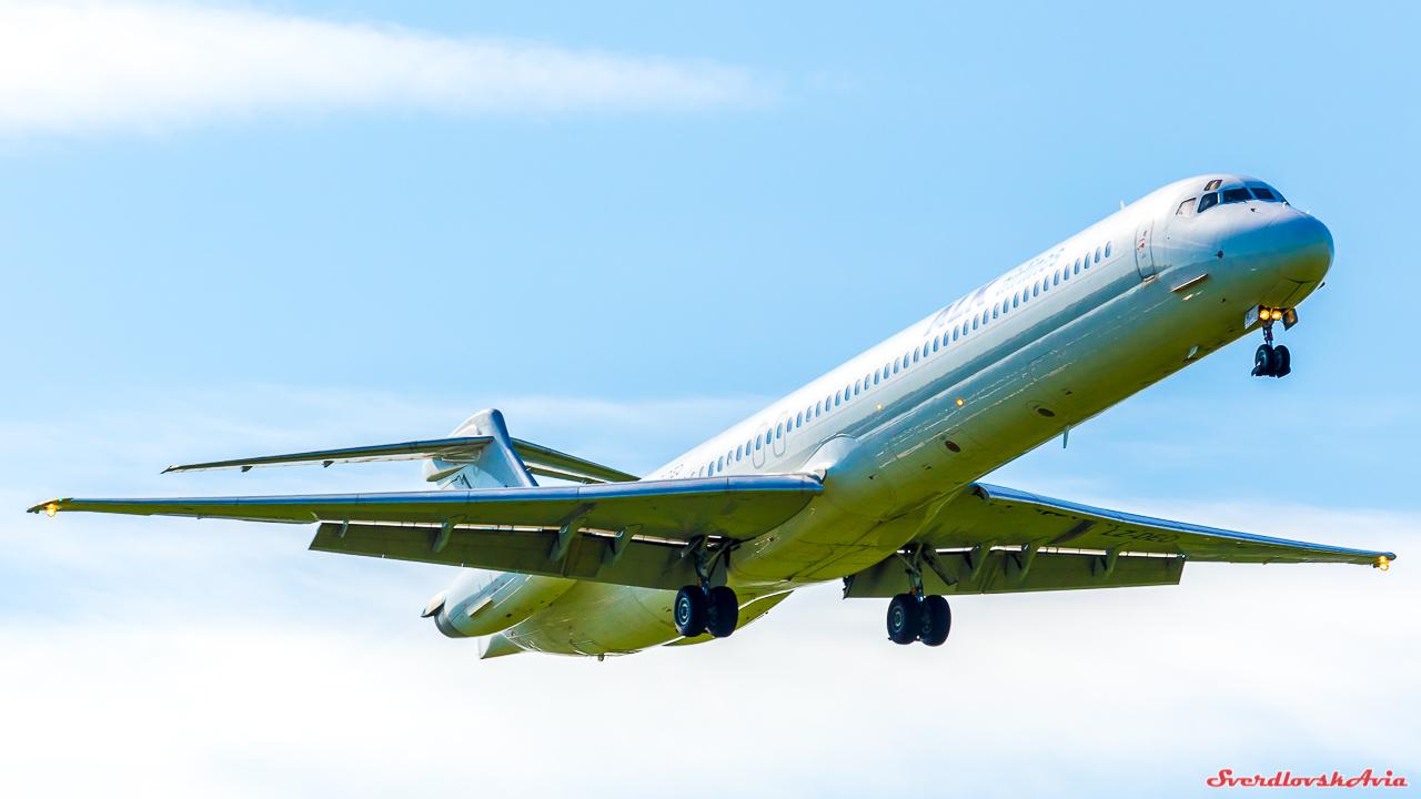 Американский длинномер. MD-82.