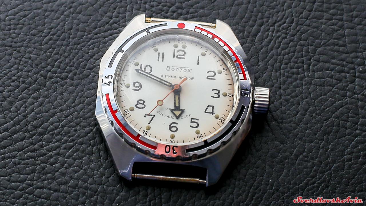 Советские дайверские часы.