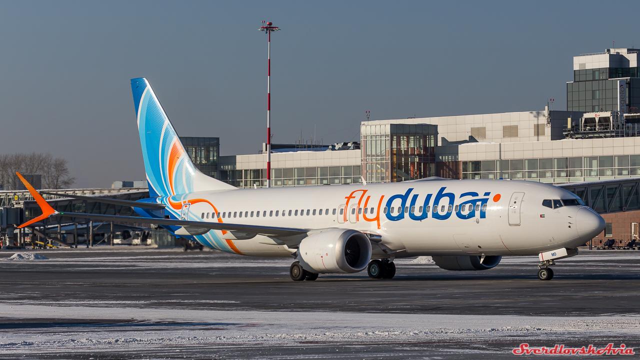 737 MAX8 в Кольцово.