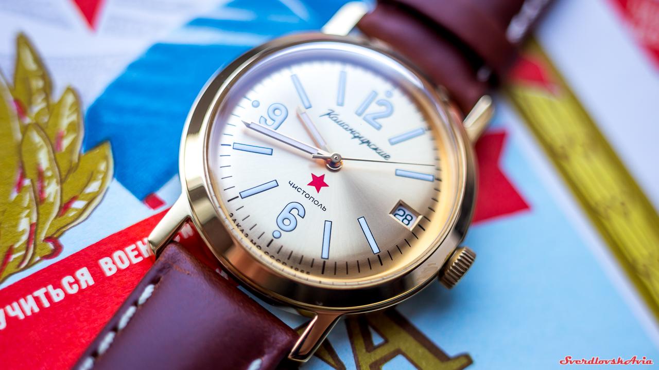 """""""Командирские"""" часы на новый лад."""