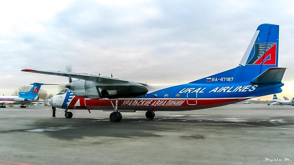 Моменты истории. Ан-24Б. RA-47187.