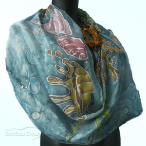 шарф ракушки2