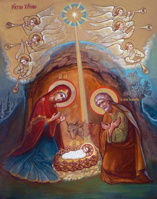 Рождество Христово. Икона.