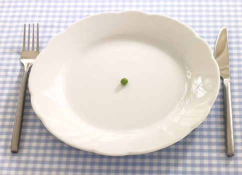 пустая тарелка +