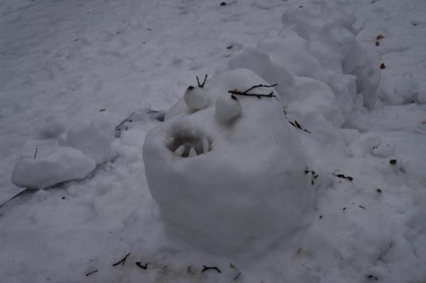 снеговое чудище