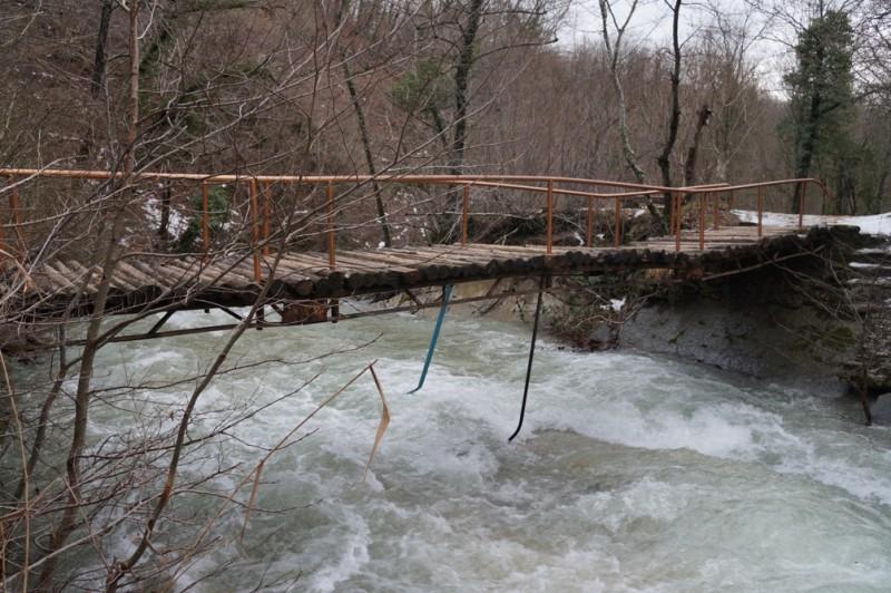 Ванны на Жане мост