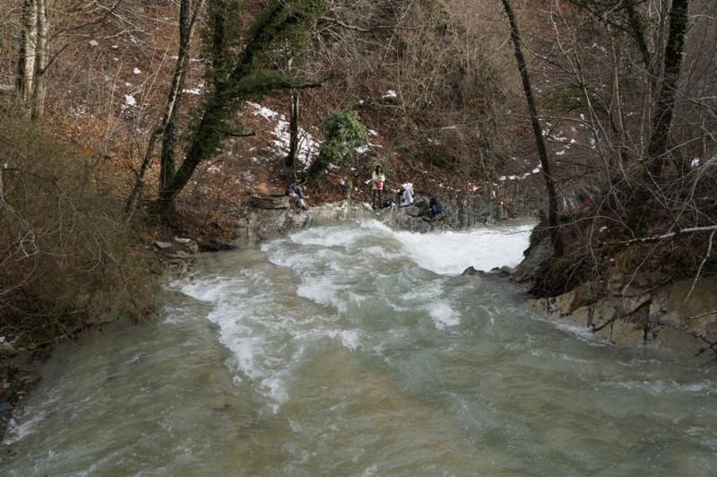 Ванны на Жане, Геракла