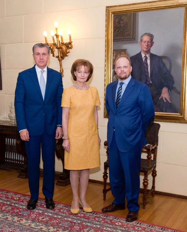 Чрезвычайный и полномочный посол Канады в Румынии был принят во дворце Елизавета