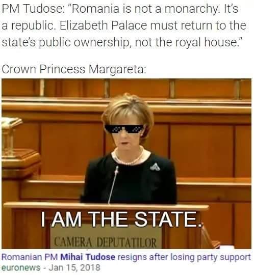 Юмор румынских монархистов:)