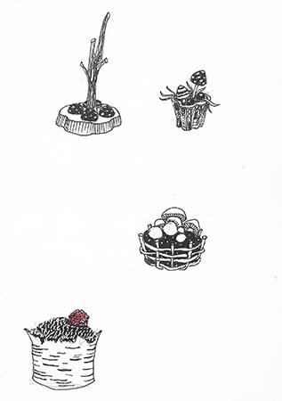 Кексы и пирожные