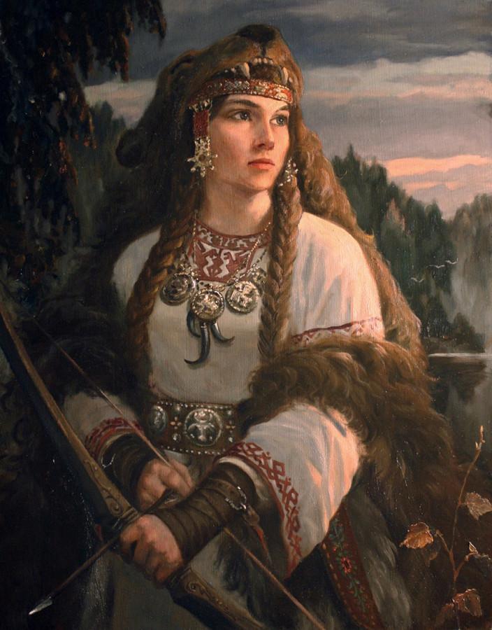 Языческие боги у славян. Художник - Андрей Шишкин