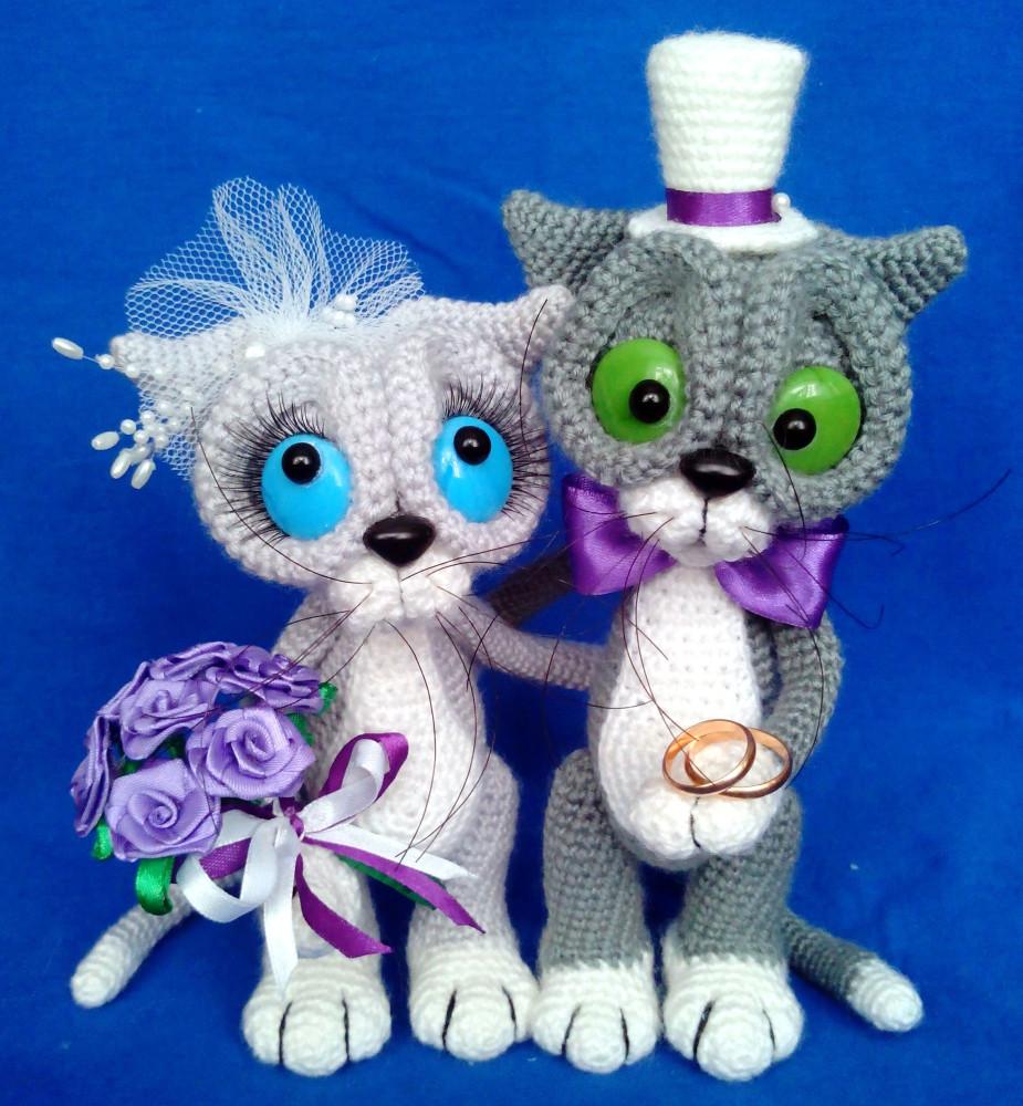 Вязаные подарки на свадьбу своими руками