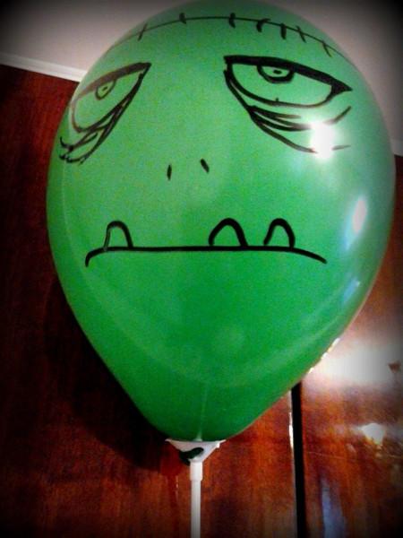 зеленый шар
