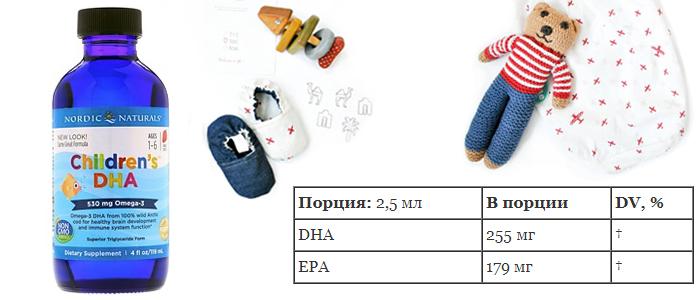 Nordic Naturals, ДГК (докозагексаеновая кислота) для детей, со вкусом клубники, 16 жидких унций (473 мл) омега для детей iherb com айхерб.jpg