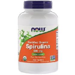 Certified Organic Spirulina