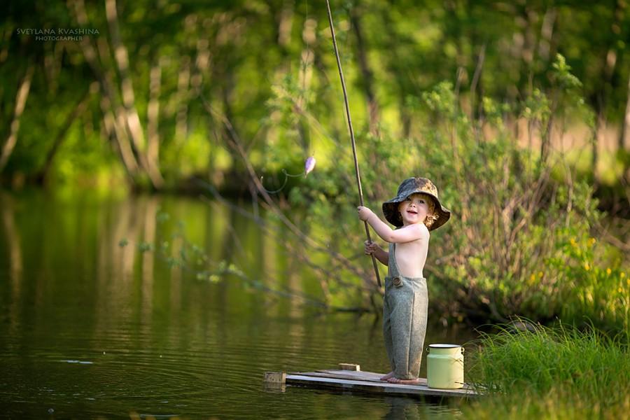 маленький рыболов