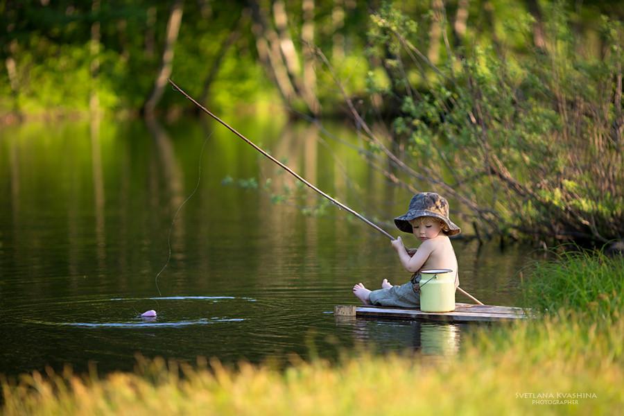 хобби ребенка рыбалка