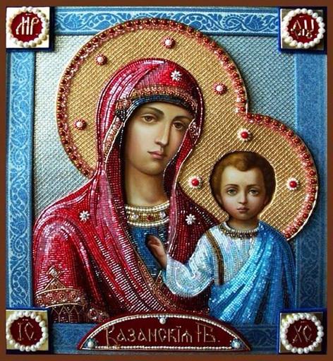 Казанская икона Божией Матери 7