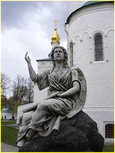 Ангел Новодевичий м-рь 2