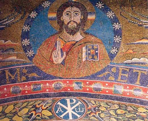 Mozaika_baziliki_San_Klemente_Mosaico_di_s.Clemente 5