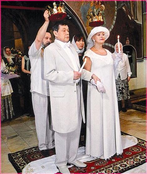 Венчание Николая Караченцова