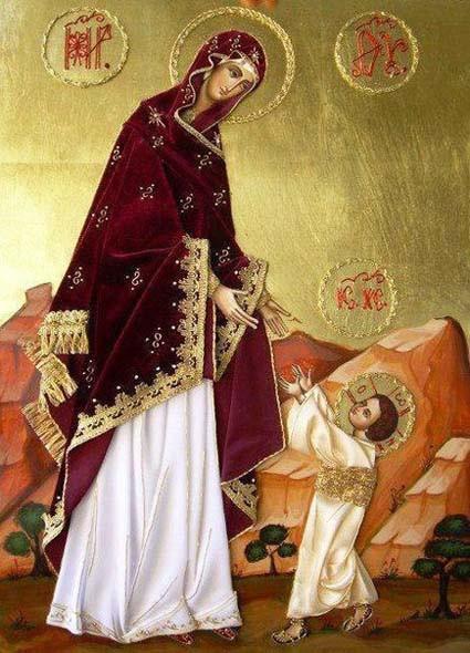 Пресвятая Богородица 4