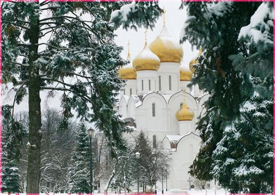 Успенский собор Ярославля Дмитрий Бырлов