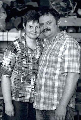 Михаил и Валентина