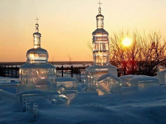 Храмы из льда